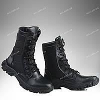 Берцы зимние / военная, тактическая обувь ДЕЛЬТА (черный)