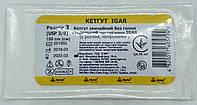 Кетгут обычный без иглы р.3 (UPS 3/0) 150 cм/ ИГАР, фото 1