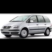 Зимние накладки Volkswagen Sharan 1995-2010 гг.