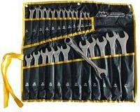 Набір комбінованих ключів Сталь 48034 CRV 25 шт, чохол, дзеркальні, фото 1