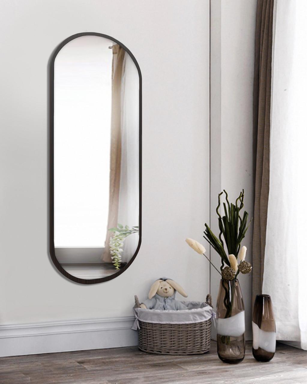 Зеркало на стену, венге магия 1300 х 600 мм
