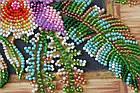 Набор-миди для вышивки бисером Каттлея (20 х 20 см) Абрис Арт AMB-027, фото 3