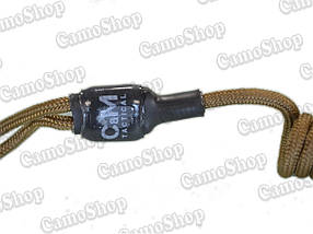 Страховочный, пистолетный шнур (пружинка) с карабином, фото 3