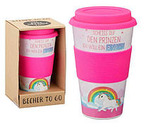Кофейная кружка to go becher 350ml bambus EINHORN