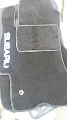 Коврики в салон для Subaru Legacy/Outback (2009-2015) резина+ворс