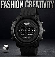 Skmei 1486 drum черные мужские часы, фото 1
