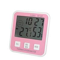 Электронный термометр с гигрометром DC107