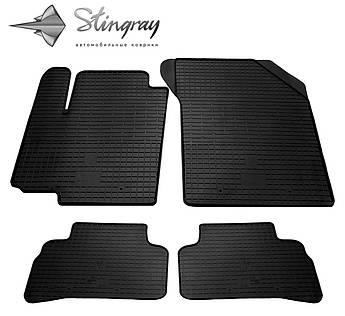 Suzuki Vitara 2015- Комплект из 4-х ковриков Черный в салон