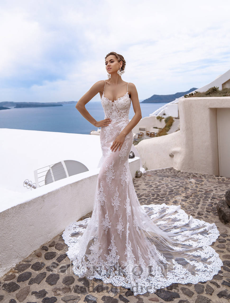 Свадебное платье № S-498