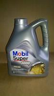 Моторное масло Mobil 5w-40, 100% синтетка бензин,дизель