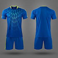 Футбольная форма M8612 (Сине-салатовая)