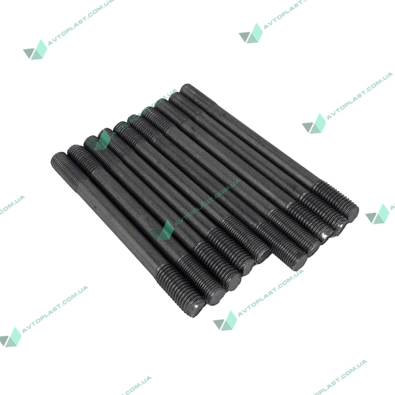 Шпилька блоку циліндра УАЗ d=12 (ремонт) (компл.10шт) (пр-во Росія)