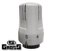 Термостатическая головка Gross TRV-07 с жидкостным датчиком