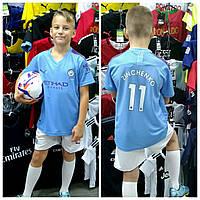 Детская футбольная форма ФК Манчестер Сити Зинченко 2019-2020 г, фото 1