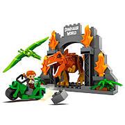 Конструктор JDLT 5246 Динозавры: Мир динозавров 68 деталей
