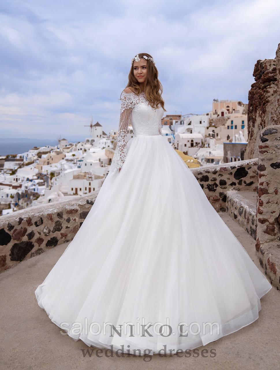 Свадебное платье № S-499
