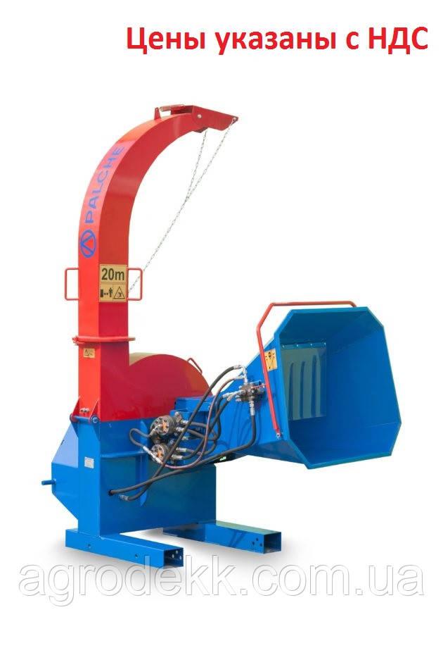 Подрібнювач деревини PL-160\ Подрібнення  деревини  більше 160 мм
