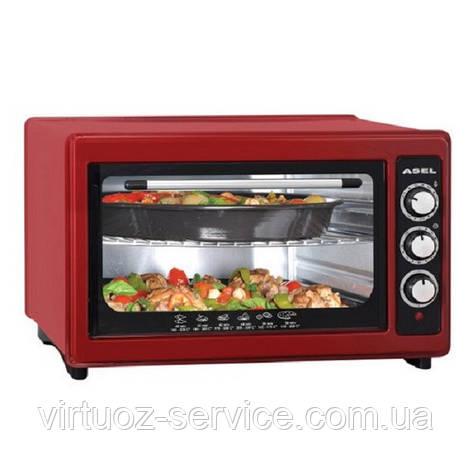Электрическая духовка Asel AF-0123 Red, фото 2