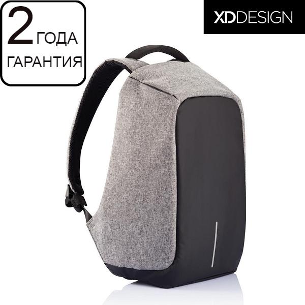 """Антикрадій рюкзак для ноутбука XD Design Bobby 15.6""""/Grey (P705.542) сірий"""