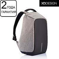 """Оригинал! Гарантия 2 года. Антивор рюкзак для ноутбука XD Design Bobby 15.6""""/Grey (P705.542) серый"""