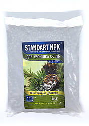 Удобрение осенне для хвойных растений  Стандарт NPK 1 кг