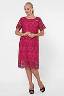 Нарядное платье Элен марсала, фото 1