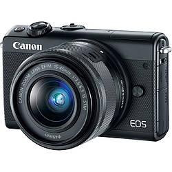 Фотоаппарат Canon EOS M100 15-45 IS STM Black (2209C048)