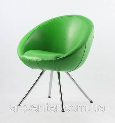 Крісло на ніжках Marbino 4Н (Home) Sancafe (зелене)