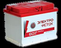 Автомобильный аккумулятор ЕлектроИсток 60 Аh/12V АЗ Euro GT Auto