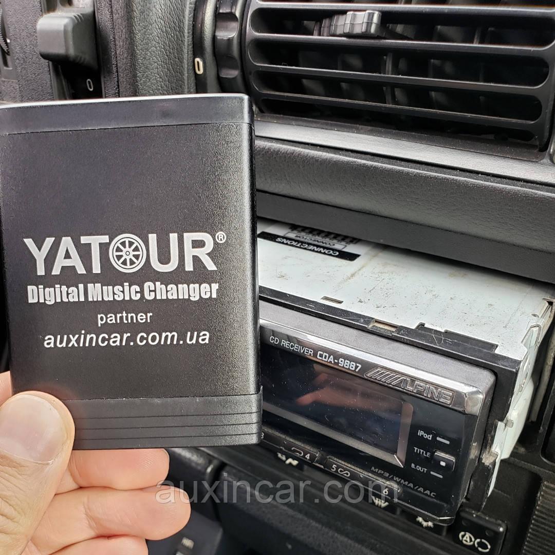 Alpine jvc aux usb sd card емулятор cd Ятур Yatour для магнітол з виходом AI-NET