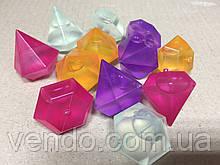 Многоразовый лед Кристаллы, Набор 12 шт. Охладитель напитков Crystal Ice