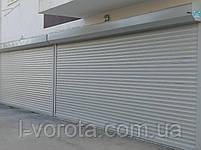 Рулонные ворота из профиля RH77M ш3000, в2000, фото 3