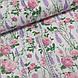 Хлопковая ткань польская полевые цветы на белом, фото 2