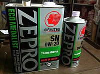 Моторное масло SN 0W-20 Idemitsu Zepro 4л. TOYOTA NISSAN HONDA MAZDA DAIHATSU SUZUKI