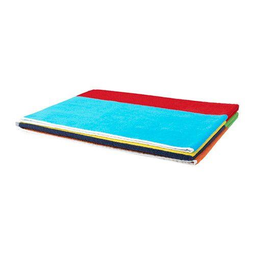 "ИКЕА ""BOKVIK"" полотенце разноцветное, 100*150см."