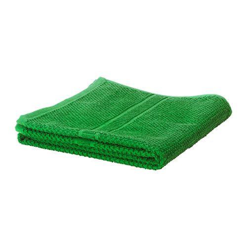 "ИКЕА ""FRÄJEN"" полотенце зеленое, 30*30см."
