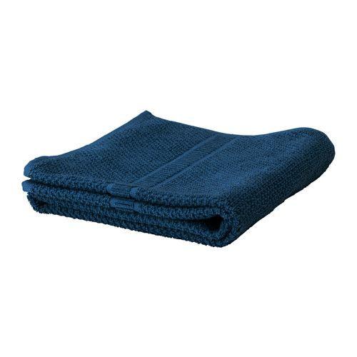 "ИКЕА ""FRÄJEN"" полотенце тёмно-синее, 30*30см."