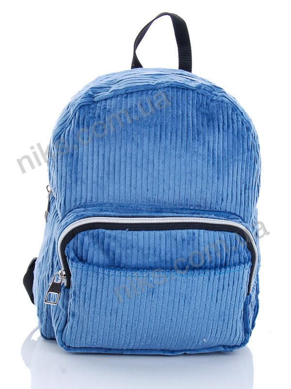 Рюкзак женский вельветовый 30 *25 David Bags