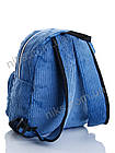 Рюкзак женский вельветовый 30 *25 David Bags, фото 3
