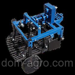 Картофелекопалка вибрационная ZIRKA-105 под ВОМ на мотоблок с ходоуменьшителем (без кардана) (КК18)