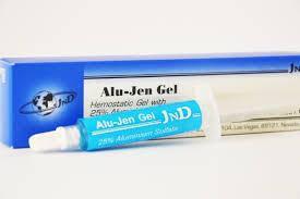 Alu-Jen Gel (Алю-Джен) - гемостатичний гель, на основі 25 % сульфату алюмінію, шприц 5 мл