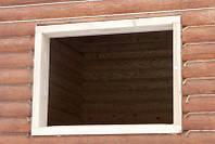 Оконный утеплитель/натуральный материал из льна и джута 7см шириной, фото 1