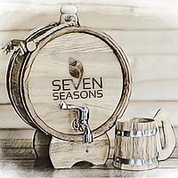 Баклага дубовая Seven Seasons™, 5 литров