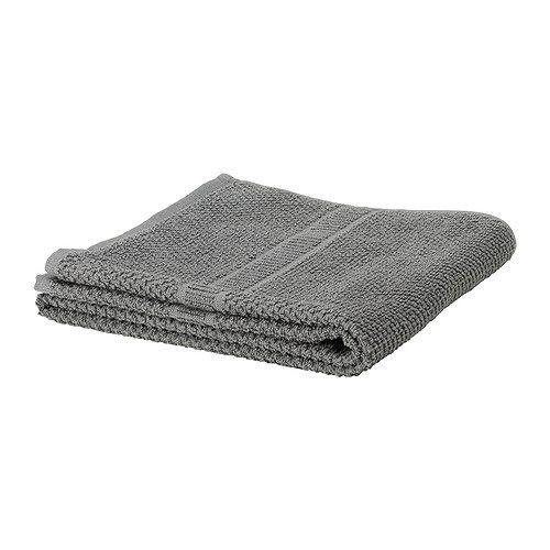 """ИКЕА """"FRÄJEN"""" полотенце, серый, 70*140см."""