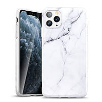 Чехол ESR для iPhone 11 Pro Marble Slim, White (4894240091500), фото 1