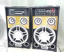 Активна акустична система AiLiang UF-801А (USB/FM/Bluetooth/Радіо) Пара