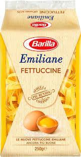 Макарони Фетучине  з яйцем  BARILLA 20Х250г
