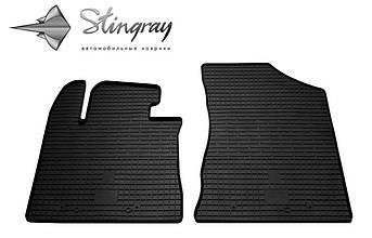 Kia Sorento 2012-2015 Комплект из 2-х ковриков Черный в салон