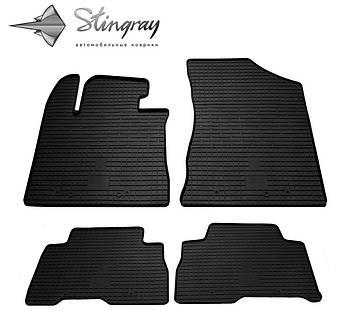 Kia Sorento 2012-2015 Комплект из 4-х ковриков Черный в салон