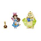 Игровой набор  Hasbro Disney Princess Белль 7.5 см-маленькая кукла Принцесса  Small Doll Story Moments Belle, фото 2